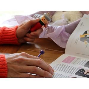 tricotin bébé diy facile