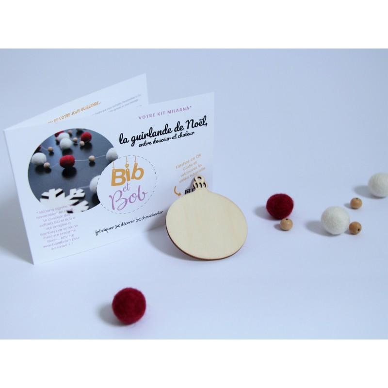 Kit DIY fabriqué en France - Bib et bob - La minute déco