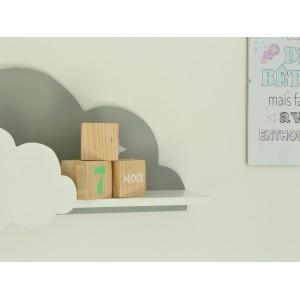 décoration chambre de bébé cubes en bois à offrir