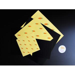 papier origami pingouin lapin