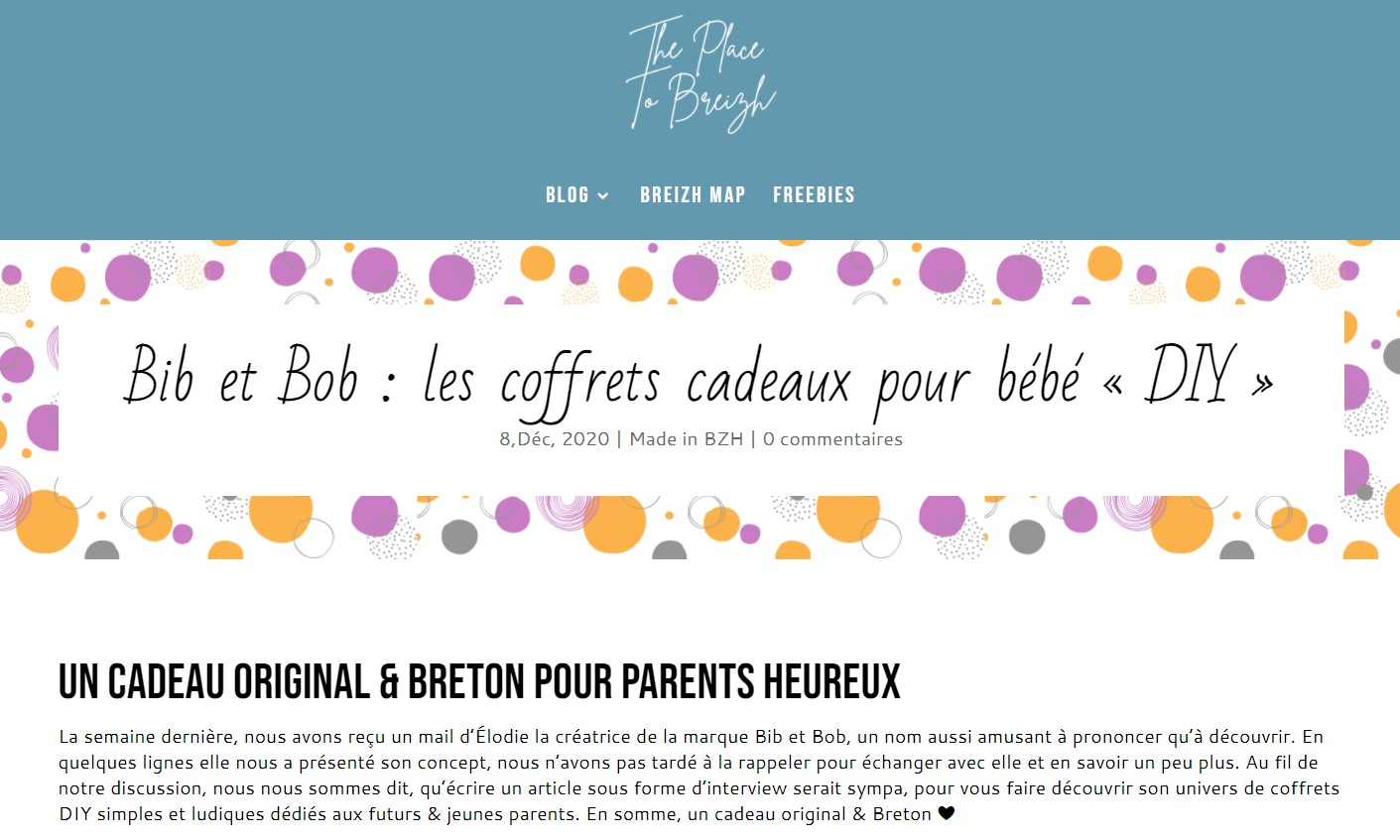 decouverte marque bretonne idee cadeau