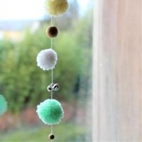 INSPIRATION POMPONS : des idées DIY simples et rapides pour décorer une chambre